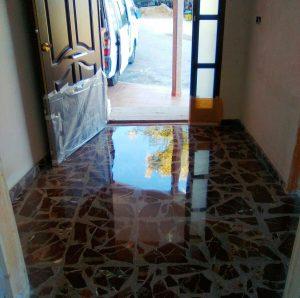 pulido de suelos en Tarragona recuperación de brillo Econeteges