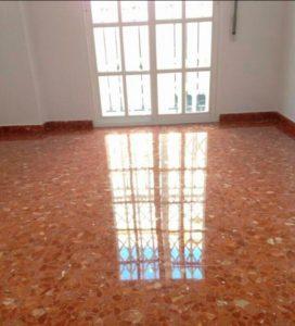 ejemplo de pulido de suelos en tarragona por Econeteges