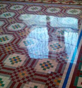 ejemplo de pulido de suelos en Tarragona por Econeteges pulidos profesionales