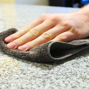Limpieza de encimeras